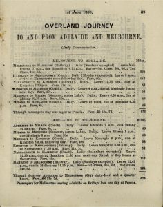 """Book Time Table of the Victorian Railways"" page 39"